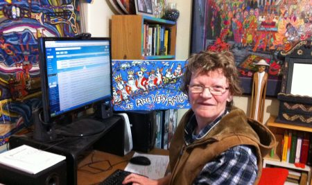 "Christine is ""over the Moon"" with her newfound tech skills!"