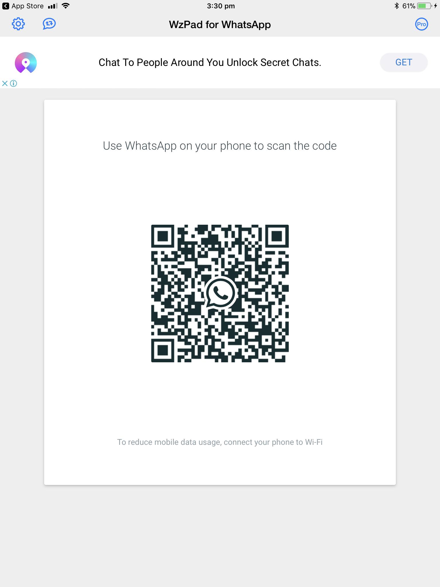whatsapp scan app