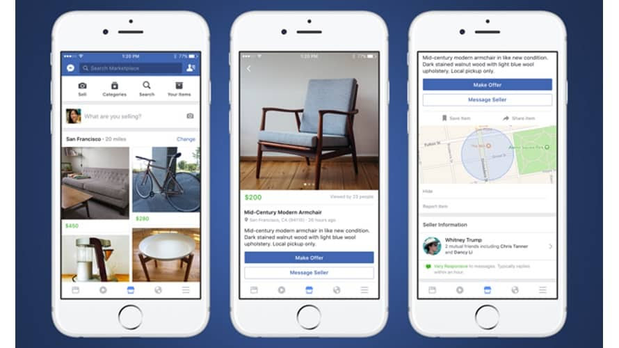 Facebook Marketplace: Buy and Sell Items Locally or Shipped